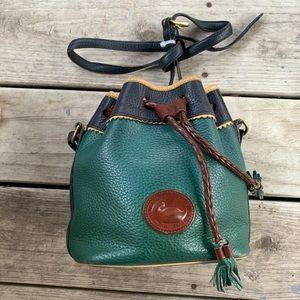 Rare vintage Dooney & Bourke drawstring purse